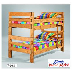 SIMPLY BUNK BED TWIN OVER TWIN 708-2PC Image