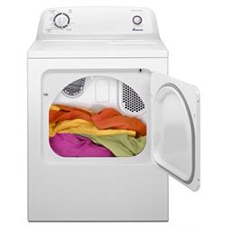 AMANA 6.5 CU FT ELECTRIC DRYER W/AUTO DRYNESS CONT NED4655EW Image
