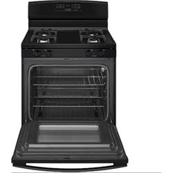 AMANA GAS RANGE, SELF CLEANING, BLACK AGR6603SFB Image