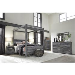 "ASHLEY ""BAYSTORM GREY"" DRESSER & MIRROR B221-31-36 Image"