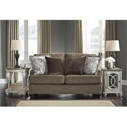 "ASHLEY ""BRAEMAR BROWN"" LOVESEAT 4090135 Image"