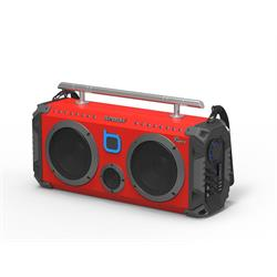 BUMPBOXX FLARE8 RED BLUETOOTH BOOMBOX FLARE8 RED Image