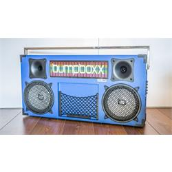 BUMPBOX FREESTYLE V3S BLUE BLUETOOTH BOOMBOX FREESTYLE V3S BLUE Image
