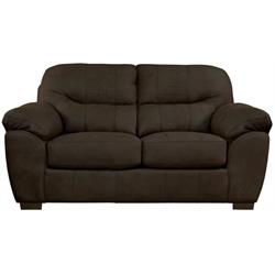 "JACKSON ""LEGEND CHOCOLATE"" LOVESEAT 445502-1412-59 Image"