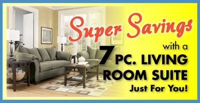 super savings on rent to own living room groups